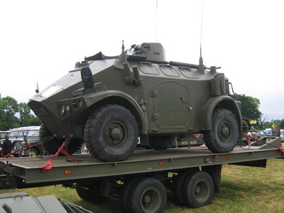 Panhard M3 VTT on Highwayman 10 Ton Recovery Trailer
